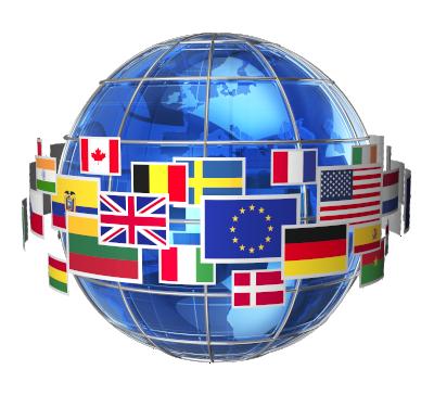 3D Flag Sphere